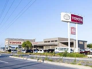 福島トヨタ自動車 いわき勿来店の外観写真