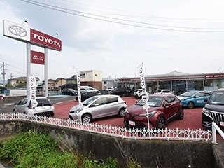 福島トヨタ自動車 福島笹木野店の外観写真