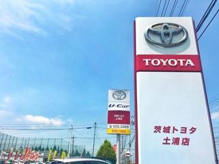 茨城トヨタ自動車 土浦店の外観写真