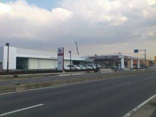 茨城トヨタ自動車 ひたち野うしく店の外観写真