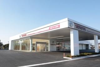 茨城トヨタ自動車 友部店の外観写真