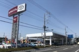 茨城トヨタ自動車 牛久店の外観写真