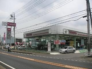 茨城トヨタ自動車 美野里店の外観写真