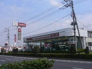 茨城トヨタ自動車 岩瀬店の外観写真