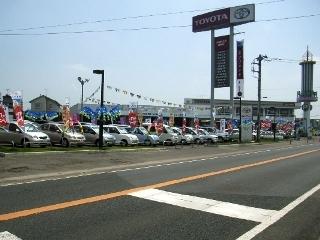 茨城トヨタ自動車 取手店の外観写真