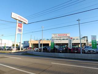 栃木トヨタ自動車 U-Carインターパーク店の外観写真