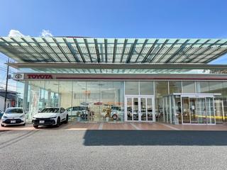 群馬トヨタ自動車 安中杉並木店の外観写真