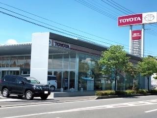 群馬トヨタ自動車 中之条バイパス店の外観写真