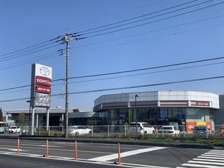 埼玉トヨタ自動車 久喜店の外観写真