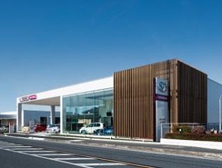 埼玉トヨタ自動車 春日部店の外観写真