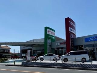 千葉トヨタ自動車 鴨川店の外観写真