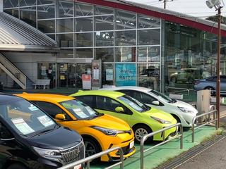 千葉トヨタ自動車 木下店の外観写真