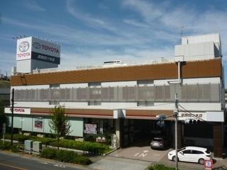 トヨタモビリティ東京 葛飾四ツ木店(旧:東京トヨタ)の外観写真