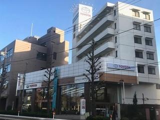 トヨタモビリティ東京 等々力店(旧:東京トヨタ)の外観写真