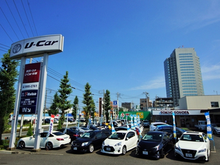 トヨタモビリティ東京 U-Car谷原光が丘店(旧:東京トヨタU-Car谷原店)の外観写真