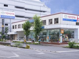 トヨタモビリティ神奈川 南店(旧:神奈川トヨタ南店)の外観写真