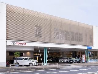 トヨタモビリティ神奈川 天王町店(旧:トヨタカローラ横浜保土ヶ谷店)の外観写真
