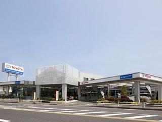 トヨタモビリティ神奈川 茅ヶ崎西店(旧:トヨタカローラ横浜茅ヶ崎店)の外観写真