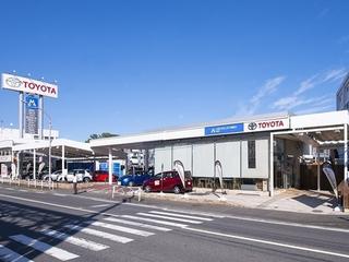 トヨタモビリティ神奈川 戸塚店(旧:ネッツトヨタ横浜マイネッツ柏尾)の外観写真