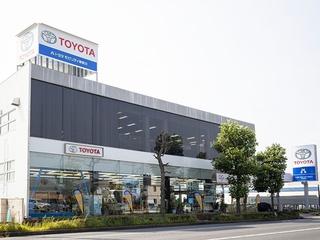 トヨタモビリティ神奈川 平塚大神店(旧:ネッツトヨタ湘南平塚店)の外観写真