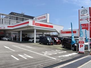 トヨタモビリティ富山 中古車Garage 富山南の外観写真