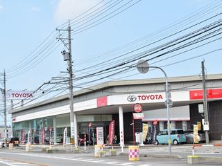 富山トヨタ自動車 富山みらい北店の外観写真