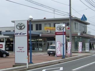 石川トヨタ自動車 河北店の外観写真