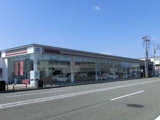 石川トヨタ自動車 野々市店の外観写真