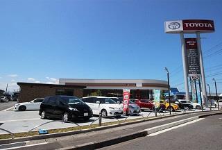 滋賀トヨタ自動車 守山店・Wi-Wi Moriyamaの外観写真