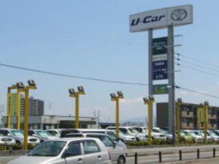大阪トヨペット U-Carランド岸和田店の外観写真