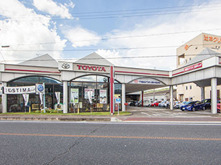 和歌山トヨタ自動車 高野口店の外観写真