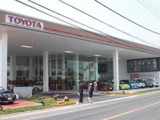 岡山トヨタ自動車 倉敷店の外観写真