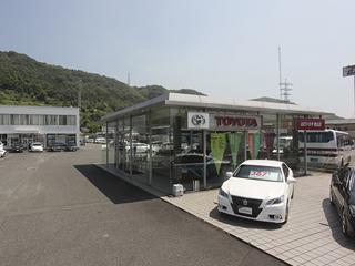 山口トヨタ自動車 徳山店の外観写真