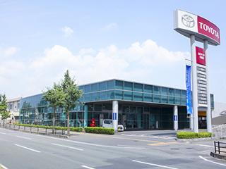 山口トヨタ自動車 宇部店の外観写真