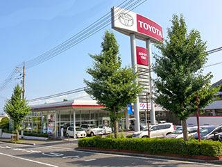山口トヨタ自動車 下関店の外観写真