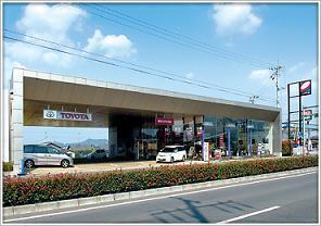 香川トヨタ自動車 三木店の外観写真