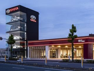 高知トヨタ自動車 土佐道路店の外観写真