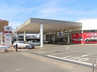 福岡トヨタ自動車 博多店の外観写真