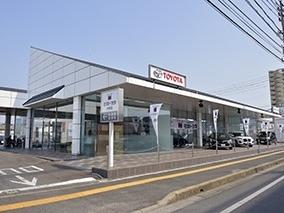 西九州トヨタ自動車 大財店の外観写真