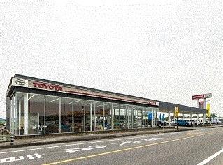 熊本トヨタ自動車 山鹿店の外観写真