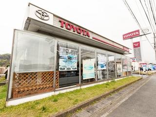 熊本トヨタ自動車 宇城店の外観写真