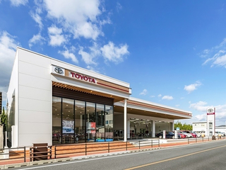 熊本トヨタ自動車 水俣店の外観写真