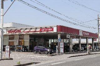 宮崎トヨタ自動車 都城店の外観写真