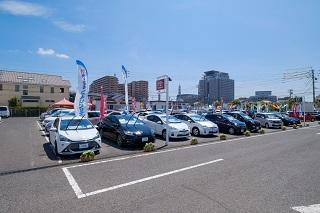 鹿児島トヨタ自動車 KTSオートシティの外観写真