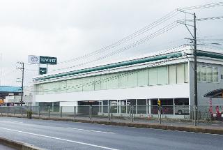 秋田トヨペット 横手店の外観写真