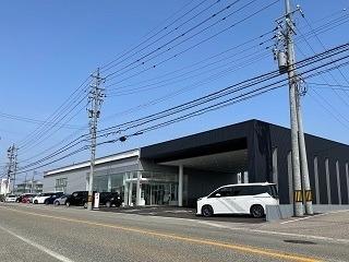 石川トヨペット 羽咋・かほく店の外観写真