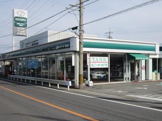 長野トヨペット 岡谷店の外観写真