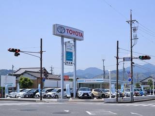 静岡トヨペット UーCar清水店の外観写真