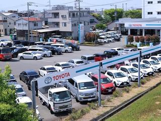静岡トヨペット U-Car沼津バイパスみどりが丘店の外観写真