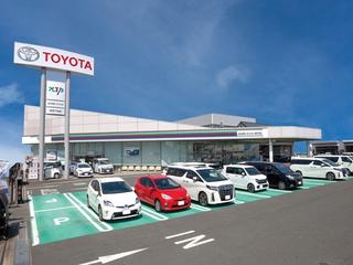 名古屋トヨペット 豊橋下地店の外観写真